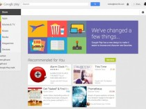 New Google Play Android Market