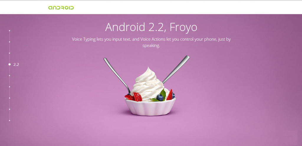 The Android Story - 2.2 froyo