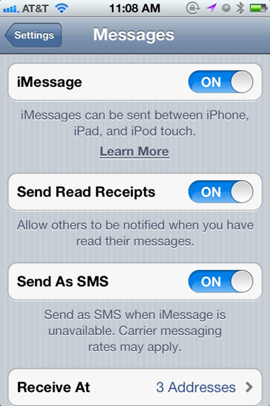 iMessage bug solved!